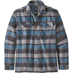 パタゴニア パタゴニア Patagonia メンズ シャツ ネルシャツ トップス【Fjord Flannel Button Up Long Sleeve Shirt】Plots/Pigeon Blue