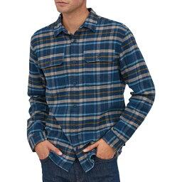 パタゴニア パタゴニア Patagonia メンズ シャツ ネルシャツ トップス【Fjord Flannel Button Up Long Sleeve Shirt】Independence/New Navy