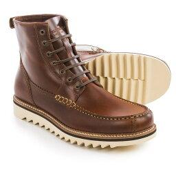 ウルヴァリン ウルヴァリン Wolverine メンズ シューズ・靴 ブーツ【1883 Driscoll Moc Toe Boots - Leather 】Brown Leather