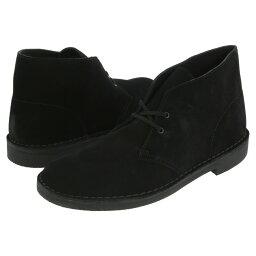 クラークス クラークス メンズ シューズ・靴 ブーツ【Bushacre 2】Black Suede