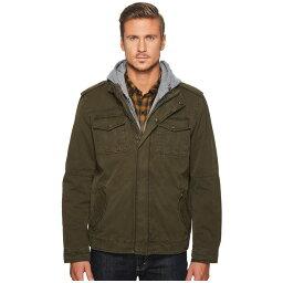 リーバイス リーバイス Levi's メンズ アウター ジャケット【Two-Pocket Hoodie with Zip Out Jersey Bib/Hood and Sherpa Lining】Olive