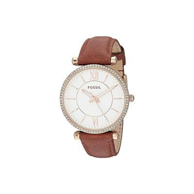 フォッシル Fossil レディース 腕時計【Carlie - ES4428】Brown