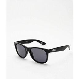 バンズ ヴァンズ VANS レディース メガネ・サングラス 【Vans Spicoli 4 Black Sunglasses】Black