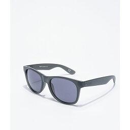 バンズ ヴァンズ VANS レディース メガネ・サングラス 【Vans Spicoli 4 Frosted Black Sunglasses】Black