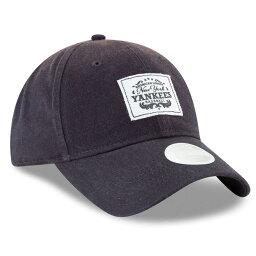 ニューエラ ニューエラ New Era レディース 帽子 キャップ【New York Yankees Vintage Patch 9TWENTY Hat】Navy