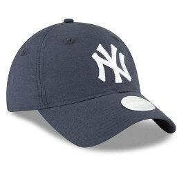 ニューエラ ニューエラ New Era レディース 帽子 キャップ【New York Yankees Linen 9TWENTY Hat】Navy