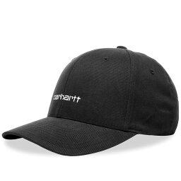 カーハート カーハート Carhartt WIP メンズ キャップ 帽子【Script Cap】Black/White