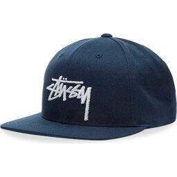 ステューシー ステューシー Stussy メンズ キャップ 帽子【stock cap】Navy