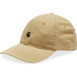 カーハート カーハート Carhartt WIP メンズ キャップ 帽子【madison logo cap】Leather/Black