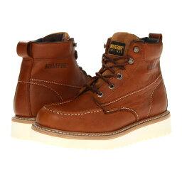 ウルヴァリン ウルヴァリン メンズ シューズ・靴 ブーツ【Moc Toe Wedge】Brown