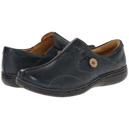 クラークス クラークス レディース シューズ・靴 ローファー・オックスフォード【Un.loop】Navy Leather