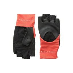 アディダス 手袋(メンズ) アディダス adidas by Stella McCartney レディース 手袋・グローブ【Training Gloves】Black/Core Red/Reflective Silver