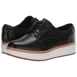 クラークス クラークス Clarks レディース シューズ・靴 ローファー・オックスフォード【Teadale Rhea】Black Leather 1