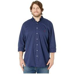 ラルフローレン ワイシャツ メンズ ラルフ ローレン Polo Ralph Lauren Big & Tall メンズ トップス シャツ【Big & Tall Garment Dyed Chino Woven】Newport Navy