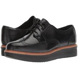 クラークス クラークス Clarks レディース シューズ・靴 ローファー・オックスフォード【Teadale Maira】Black Shiny Leather