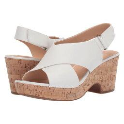 クラークス クラークス Clarks レディース ヒール シューズ・靴【Maritsa Lara】White Leather