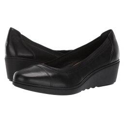 クラークス クラークス Clarks レディース ヒール シューズ・靴【Un Tallara Liz】Black Leather