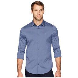 カルバン・クライン カルバンクライン Calvin Klein メンズ シャツ トップス【The Stretch-Cotton Shirt】Vintage Indigo