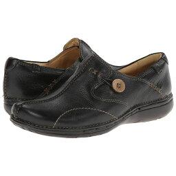 クラークス クラークス Clarks レディース ローファー・オックスフォード シューズ・靴【Un.loop】Black Leather