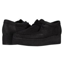 クラークス クラークス Clarks レディース ローファー・オックスフォード シューズ・靴【Wallacraft Lo】Black Nubuck