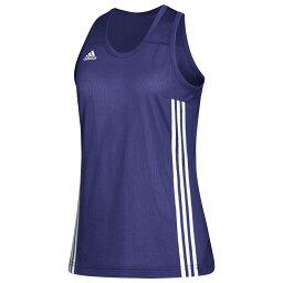 スピード アディダス adidas レディース バスケットボール トップス【Team 3G Speed Reversible Jersey】College Purple/White