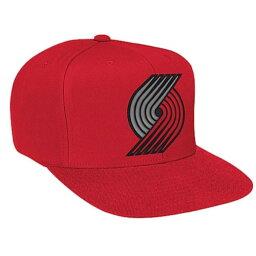 ミッチェル&ネス ミッチェル&ネス メンズ 帽子 キャップ【Mitchell & Ness NBA Solid Snapback】Red