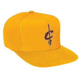 ミッチェル&ネス ミッチェル&ネス メンズ 帽子 キャップ【Mitchell & Ness NBA Solid Snapback】Yellow