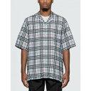 バーバリー バーバリー Burberry メンズ シャツ トップス【Vintage Check Twill Shirt】Pale Blue