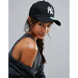 ニューエラ 【即納】ニューエラ New Era レディース 帽子 キャップ【Black NY 9Forty Cap】Black