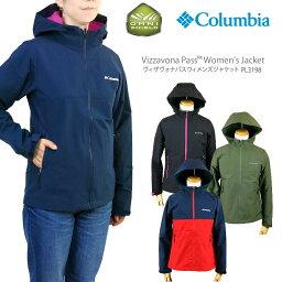 コロンビア 【NEW】コロンビア ジャケット マウンテンパーカー COLUMBIA PL3198 VIZZAVONA PASS WOMEN'S JACKET レディース ヴィザヴォナ パス ジャケット レインウェア