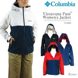 コロンビア 【NEW】コロンビア ジャケット マウンテンパーカー COLUMBIA PL3069 VIZZAVONA PASS WOMEN'S JACKET レディース ヴィザヴォナ パス ジャケット レインウェア