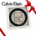 カルバンクライン ベルト(メンズ) カルバンクライン Calvin Klein cK メンズ ベルトセット [CK-74306]