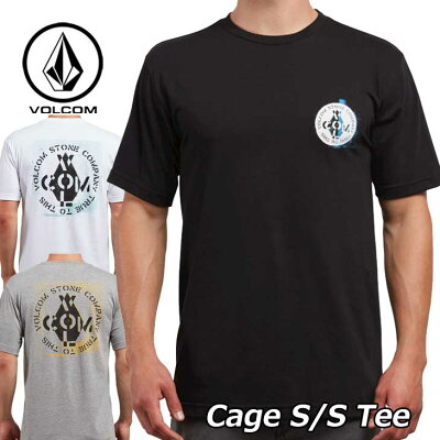 volcom ボルコム Tシャツ Cage S/S Tee メンズ 半袖 A3521803 【返品種別OUTLET】