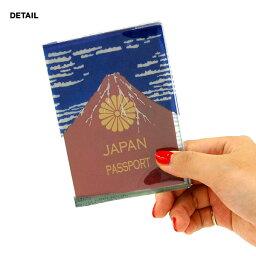 赤富士 パスポートケース 【ネコポス 200円】パスポートカバー アカフジ アオフジ akafuji Passport Case トラベル ケース パスポートギフト aofuji