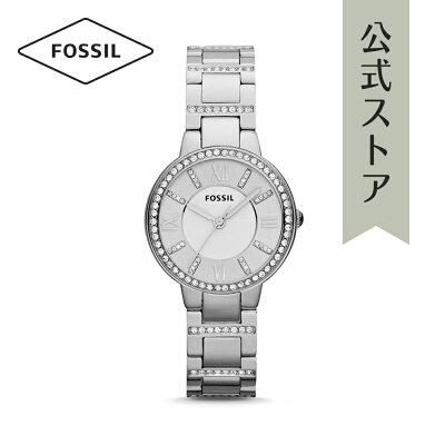 [1000円OFFクーポン+エントリーでP最大23倍/マラソン期間中]『公式ショッパープレゼント』フォッシル 腕時計 公式 2年 保証 Fossil レディース ヴァージニア ES3282 VIRGINIA