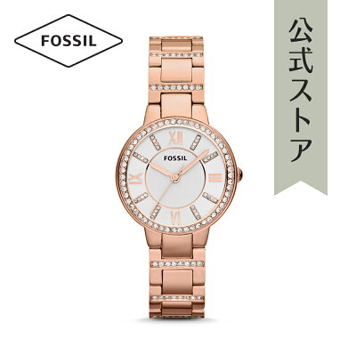 [1000円OFFクーポン+エントリーでP最大23倍/マラソン期間中]『公式ショッパープレゼント』フォッシル 腕時計 公式 2年 保証 Fossil レディース ヴァージニア ES3284 VIRGINIA