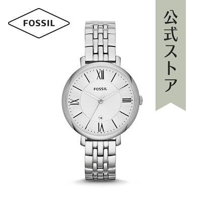 [1000円OFFクーポン+エントリーでP最大23倍/マラソン期間中]『公式ショッパープレゼント』フォッシル 腕時計 公式 2年 保証 Fossil レディース ジャクリーン ES3433 JACQUELINE