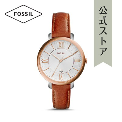 [1000円OFFクーポン+エントリーでP最大23倍/マラソン期間中]『公式ショッパープレゼント』フォッシル 腕時計 公式 2年 保証 Fossil レディース ジャクリーン ES3842 JACQUELINE