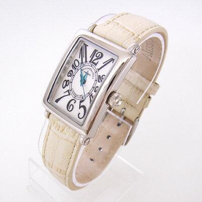 腕時計 レディース アレサンドラオーラ Alessandra Olla レディース腕時計 レディースウォッチ AO-1500-18 ベージュ 送料無料