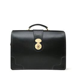 ホワイトハウス・コックス ホワイトハウスコックス【Whitehouse Cox】型番:L9505(ブラック) ブリーフケース 鞄 ブライドルレザー 牛革