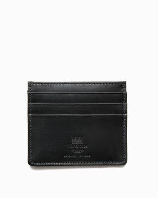 ホワイトハウスコックス【Whitehouse Cox】型番:S1014(ブラック) カードケース パスケース ブライドルレザー 牛革 男女兼用