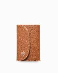 ホワイトハウスコックス 財布(レディース) ホワイトハウスコックス【Whitehouse Cox】型番:S7660(タン×ハバナ) 財布 三つ折り財布 ツートーン ロンドンカーフ×ブライドルレザー 牛革 男女兼用(タン)(ブラウン)