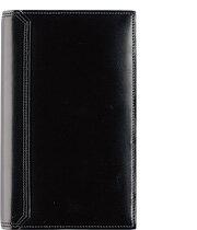 コードバン 【ポケットサイズ(ナロー変形サイズ)】水染めコードバン・バインダーオープンタイプ【リング径:15mm 6穴】【ギフト】送料無料