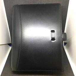 コードバン 【訳あり!!1点のみ 20%OFF】コンパクトサイズコードバンバインダーリング経25mmオープンタイプ ブラック-(553)★返品不可商品となります★