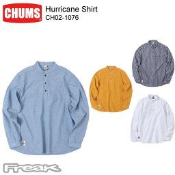 チャムス CHUMS チャムス メンズ トップス CH02-1076<Hurricane Shirt ハリケーンシャツ> ※取り寄せ品