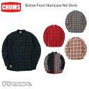 チャムス CHUMS チャムス メンズ シャツ CH02-1162<Button Front Hurricane Nel Shirts ボタンフロントハリケーンネルシャツ(シャツ/トップス)>※取り寄せ品