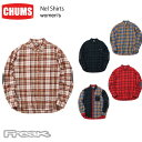 チャムス CHUMS チャムス メンズ シャツ CH02-1166<Nel Shirts ネルシャツ(シャツ/トップス)>※取り寄せ品