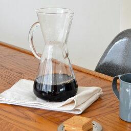 ケメックス CHEMEX Glasshandle Coffee Maker 3 Cup CM-1GH(ケメックス ガラスハンドル コーヒーメーカー 3カップ)