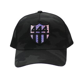 ヨシノリコタケ 新品 ヨシノリコタケ YOSHINORI KOTAKE x バーニーズ ニューヨーク BARNEYS NEWYORK HOLOGRAM 444 LOGO MESH CAP キャップ BLACK ブラック 黒 メンズ 新作