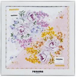 レノマ レノマ Renoma 婦人ハンカチ2枚セット REL10050 ブランド/レディース/ハンカチ2P/ギフト